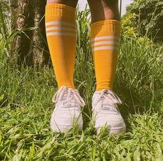 Yellow, aesthetic, and socks image. Art Hoe Aesthetic, Aesthetic Colors, Aesthetic Yellow, Character Aesthetic, Irina Jelavic, Retro, My Favorite Color, My Favorite Things, Happy Colors