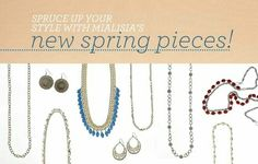 NEW SPRING PIECES!!