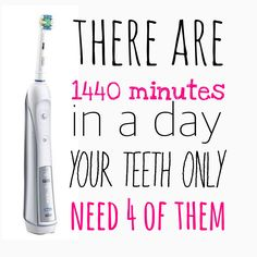Brush 2x2 minutes a day. It prevents tooth decay and gum disease #dental hygiene #prevention