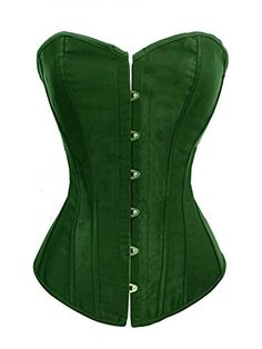 Chicastic Emerald Green Satin Sexy Strong Boned Corset Lace Up Bustier Top - X-Large Chicastic http://www.amazon.com/dp/B013F71VQQ/ref=cm_sw_r_pi_dp_Iv27vb178B15K