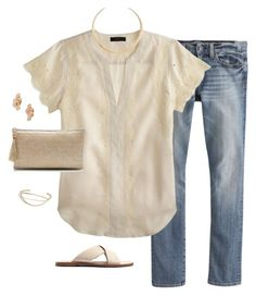 """""""Untitled #3859"""" by shopwithm ❤ liked on Polyvore featuring Mode, J.Crew und Madewell"""
