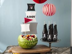 How to throw a swashbuckling pirate birthday party #BettyBirthdays #BabyCenterBlog