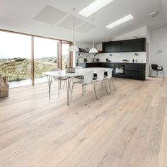 Blond, House 2, Dining Table, Cottage, Flooring, Doors, Kitchen, Furniture, Home Decor