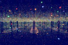 Yayoi Kusama y sus cuartos infinitos