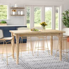 Solid Wood Dining Table, Extendable Dining Table, Dining Table In Kitchen, Dining Tables, Kitchen Chairs, Dining Area, Dining Table Online, Counter Height Table, Leaf Table