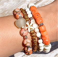 Welcome Spring Stacking Bracelets