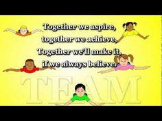 Together We Aspire (TEAMWORK) - Animated Song
