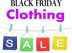 Online Clothing Deals for Black Friday and Cyber Monday 2013 #BlackFriday #clothing