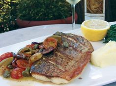 For the next few weeks you can get your fill of the best of what 2017 had to offer! Enjoy our Friuli inspired Filetto di Branzino alla Greca: grilled fillet of seabass w/ black & green olives, capers, tomatoes & Trebbiano wine.