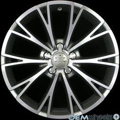 "18"" Gunmetal Sline Style Wheels Fits Audi A4 S4 RS4 B5 B6 B7 B8 Quattro TDI Rims | eBay"