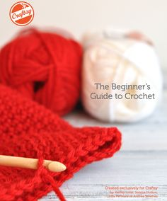 Teach yourself or others how to crochet with the FREE Crochet Tutorial for Beginners bundle, available exclusively on Craftsy!
