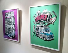 Zurich-based typographer and illustrator Stephan Walter's first solo show at London's Coningsby Gallery combines personal and commissioned work from throughout his career Creative Review, Grafik Design, Zurich, Graphic Illustration, Illustrations Posters, Illustrator, Identity, February, Career