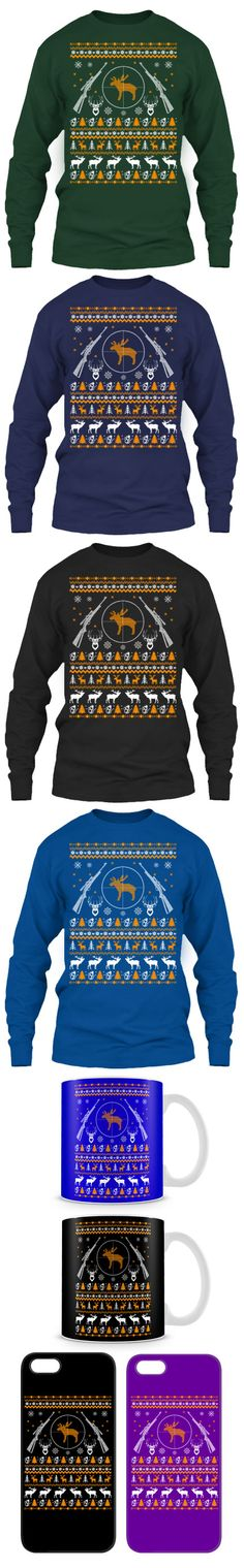 Hunting Ugly Christmas Sweater! Click The Image To Buy It Now or Tag Someone You Want To Buy This For.