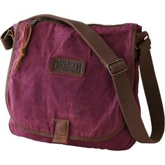 The women's Oil Cloth Sling Bag from Duluth Trading Company lets you venture forth without fear of downpours or dumped coffee. Skip the wallet and stash your cash, cards, even an iPad� in this rugged, roomy bag.