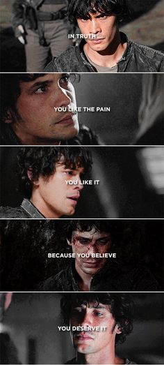 Bellamy Blake || The 100 || Bob Morley || Poor Bellamy but it is true