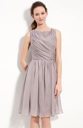 Suzi Chin for Maggy Boutique Draped Organza Dress