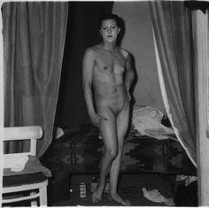 Jonge travestite nakt pity, that