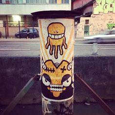 Street art | Mural (Brazil) by Rafo Castro Graffiti / street art , Urban art .. lets just call it ART.. https://www.etsy.com/shop/urbanNYCdesigns?ref=hdr_shop_menu