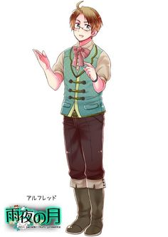 "I'm confused. Is this supposed to be colonial? (""""Hetalia"" - America folk costume."")"