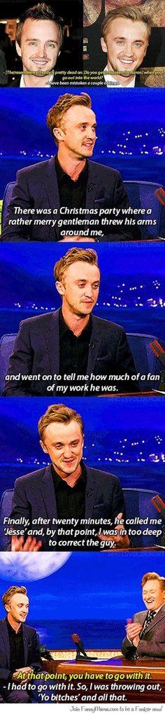 Nice of you, Tom