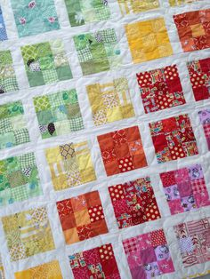 utilizing scraps for scrap quilts | Squares and Triangles