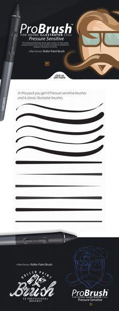 ProBrush™ PS + Bonus Brushes by Leonard Posavec on Creative Market