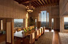 Ennis Residence Frank Lloyd Wright, 1923 Los Angeles, CA.