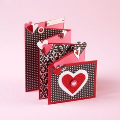 Send some heartfelt wishes this Valentine's day with an ornate accordion card.
