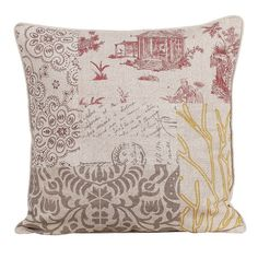 I pinned this Patchwork Pillow from the Poésy Design event at Joss & Main!