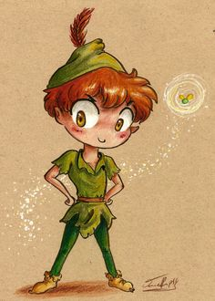 Peter Pan and Tink, by Rue789