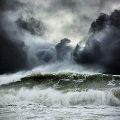 Dalton Portella: океан во время шторма