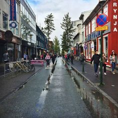 Walk down Laugavegur - 10 Awesome and Free things to do in Reykjavik Iceland | Life With a View