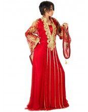 aljalabiya.com: Plain Chiffon Jalabiya with hand embroidery and brush print (N-10193)  6 Review(s)    Regular Price: $303.00    Special Price: $227.25