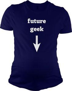 Future Geek Maternity t shirt funny pregnancy shirt S-3XL on Etsy, $21.99