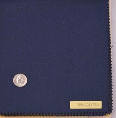 Vitale Barberis Canonico - Flannels Navy - Bespoke Shirts by Luxire. Custom made to Perfection