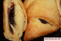 Chocolate Croissant Recipe can be found on www.dish-ditty.com