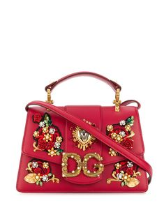 Shop online red Dolce & Gabbana Amore bag as well as new season, new arrivals daily. Dolce & Gabbana, Dolce And Gabbana Handbags, Gucci, Fendi, Stefano Gabbana, Luxury Bags, My Bags, Purses And Handbags, Calf Leather