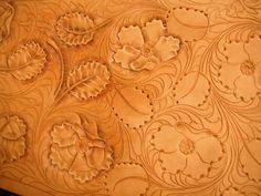 Hand-carved leatherwork. #shastaleatherworks