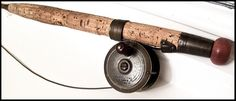 Victorian Fishing rod - handle detail
