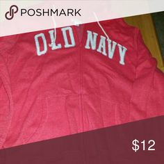 Zip up sweat jacket Air dry only, smoke free home. Old Navy Jackets & Coats