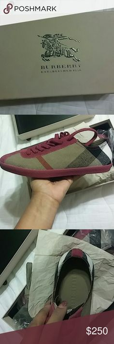 New never worn couldn't return because lostreciept New never worn Burberry Shoes Sneakers