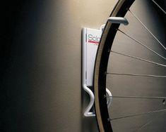 vertical bike storage hook for garage