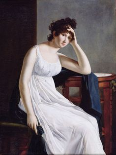 Constance Mayer, Self-Portrait. Oil on canvas. Bibliothèque Marmottan, Boulogne-Billancourt