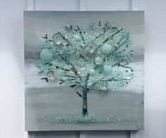 Tree of Life Art - Mary Hong Studio - GlassCollage Art