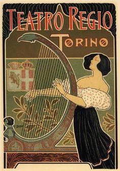 Vintage French Art Nouveau Shabby Chic 002 Retro Poster Print Art A3 SIZE