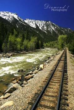 Durango to Silverton Narrow Gauge Railroad and the Animas River