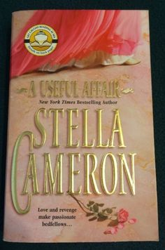 Vintage 2004 A Useful Affair Stella Cameron Paperback Book Historical Romance   eBay