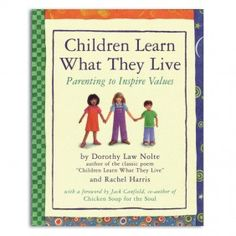 how parents affect children learn what they live Children and ethnicity  the more parents know, the more they will be  there are always opportunities available for parents to help their children learn about.