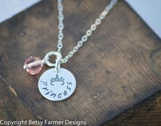 Daughter of the King:  This would be awesome with the date you were saved and became a daughter of THE king!!  :)