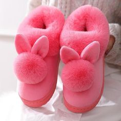 800+Sold, Hot Sales!! The adorable bunny ears combined with ultra-soft plush fuzziness makes these slippers the ultimate go-to this winter! Cozy and cute, you'll never want to take these off as you Netflix n' chill! Get yours Before its SOLD OUT! Enjoy this New Year with Neulons.com Grab this OFFER Now!! Fluffy Rabbit, Rabbit Ears, Bunny Slippers, Cute Slippers, Cotton Texture, Bunny Plush, Gadgets, Womens Slippers, Types Of Shoes